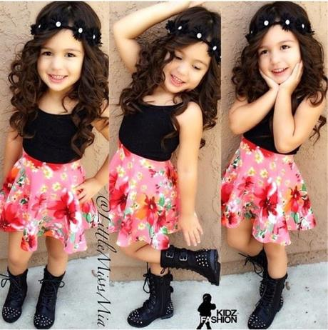 o vestir a niñas de 2 a 10 años paperblog