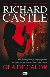 "Portada de ""Ola de calor"". Richard Castle."