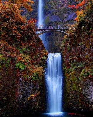 Cataratas Multnomah, Oregon, Estados Unidos