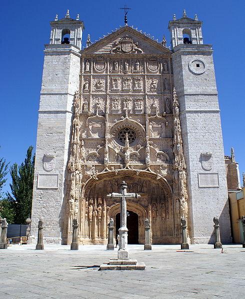 Archivo:Fachada de la iglesia conventual de San Pablo (Valladolid).jpg
