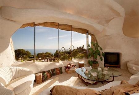 La casa inspirada en Los Picapiedra está en venta