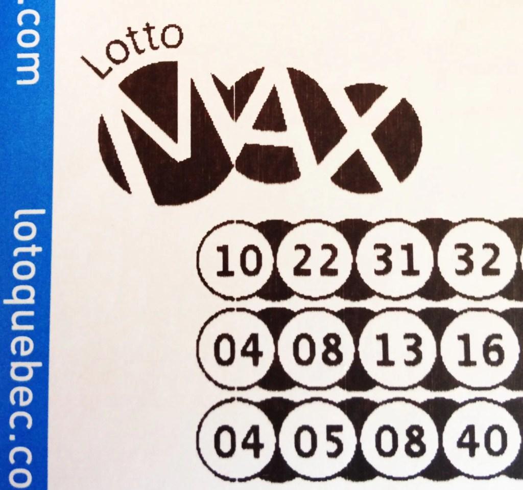Lotto Max: le gros lot de 70 millions $ gagné en Ontario