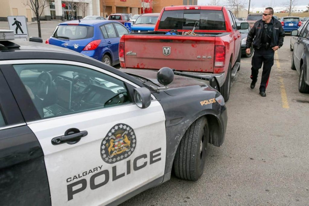 Calgary: vol d'une bijouterie à coup de gaz lacrymogène