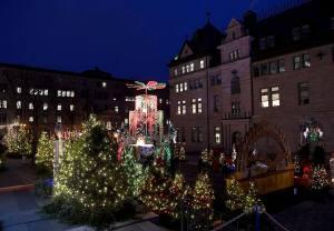 [PHOTOS] Les jardins de Noël allemand ouverts au public dès samedi