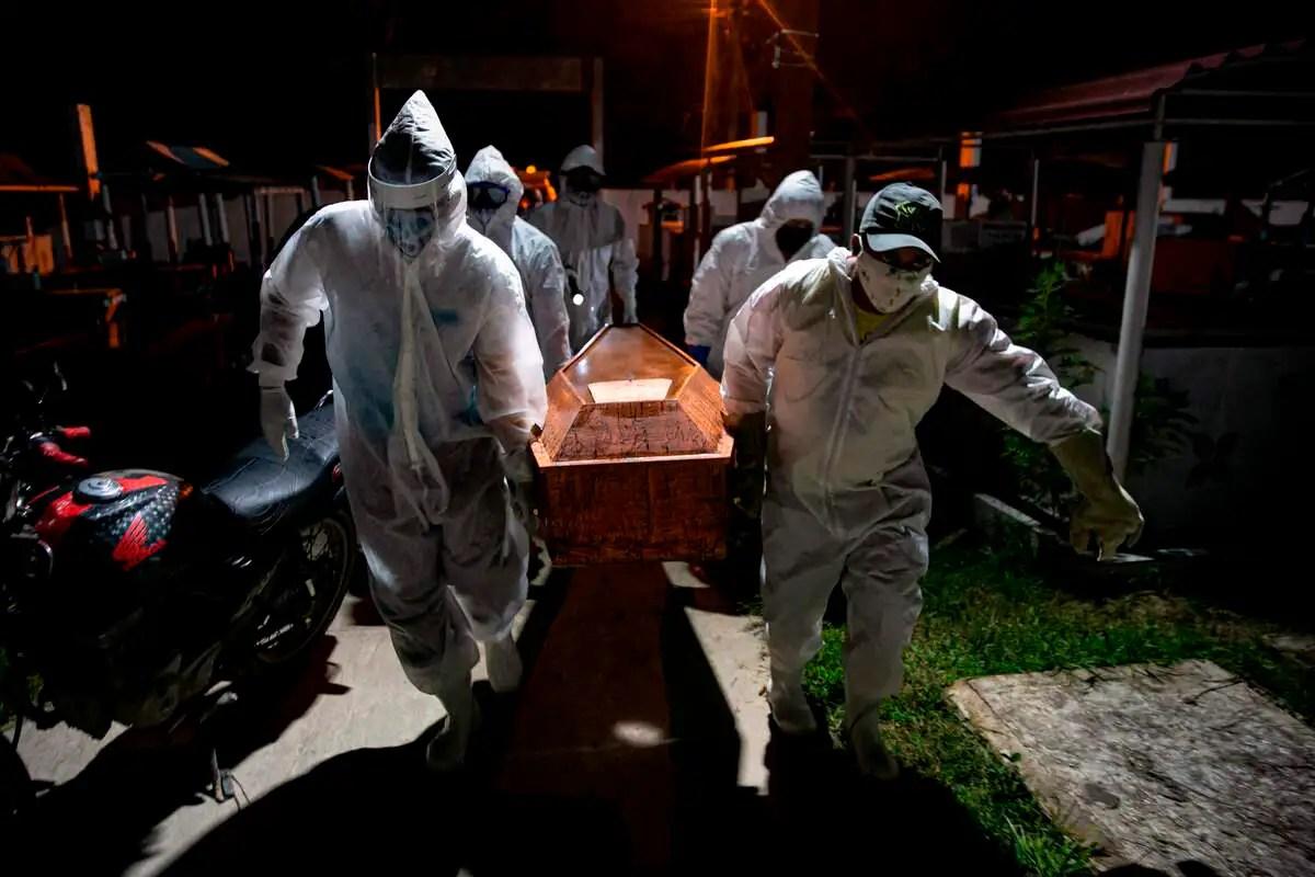 Coronavirus au Brésil: vers les 200 000 morts dès octobre selon un spécialiste