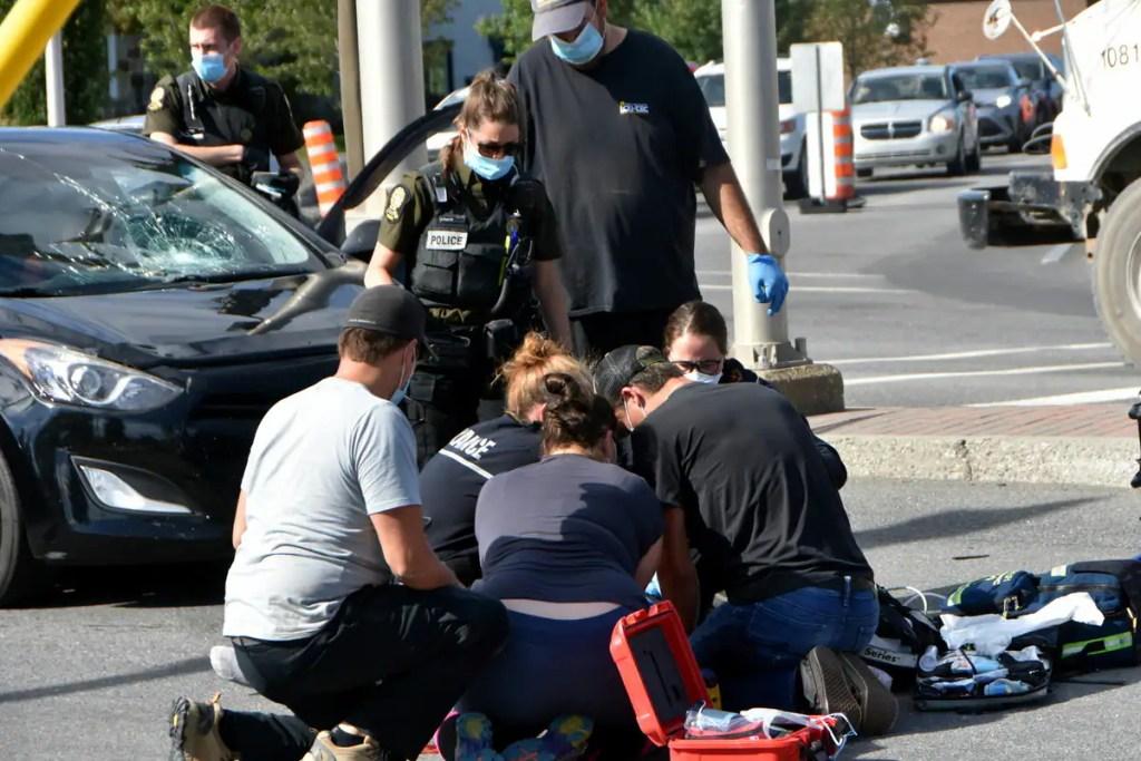 Heurtée par un véhicule à Drummondville: une piétonne de 71 ans succombe à ses blessures