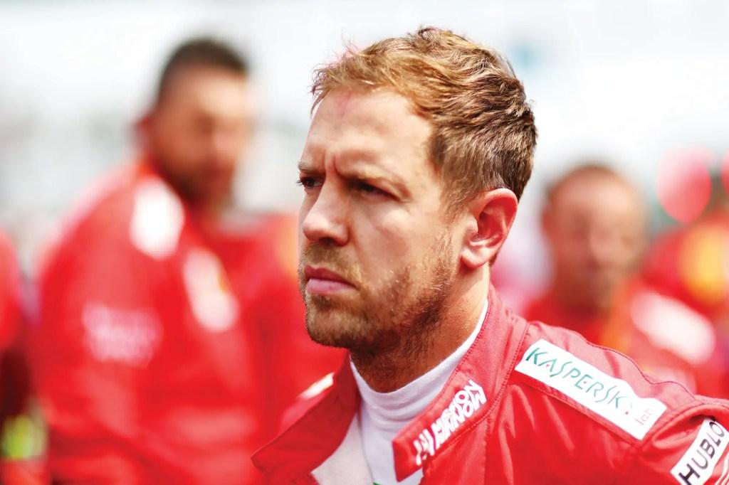 Vettel s'approche d'Aston Martin