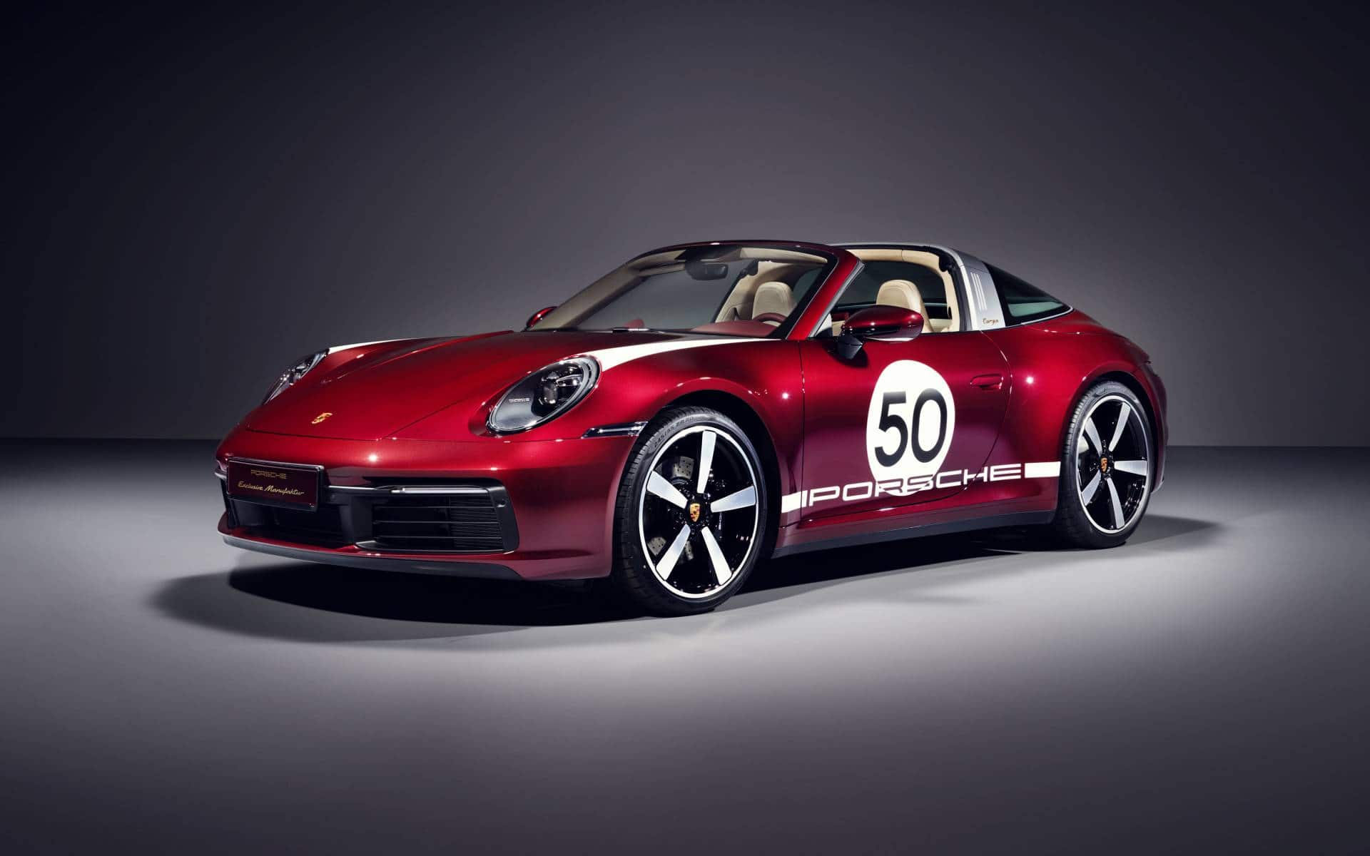 Porsche 911 Targa Heritage: cerise sur le sundae