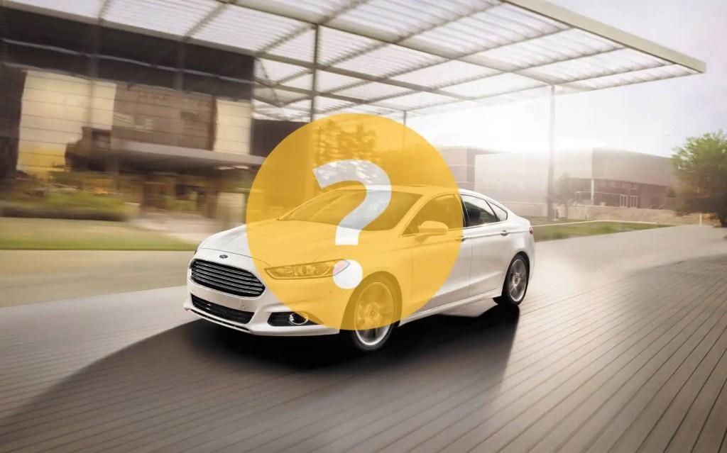 Quoi surveiller sur la Ford Fusion 2016?
