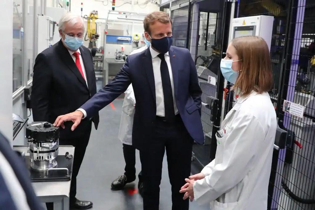 France : Macron annonce un plan de huit milliards d'euros pour l'automobile
