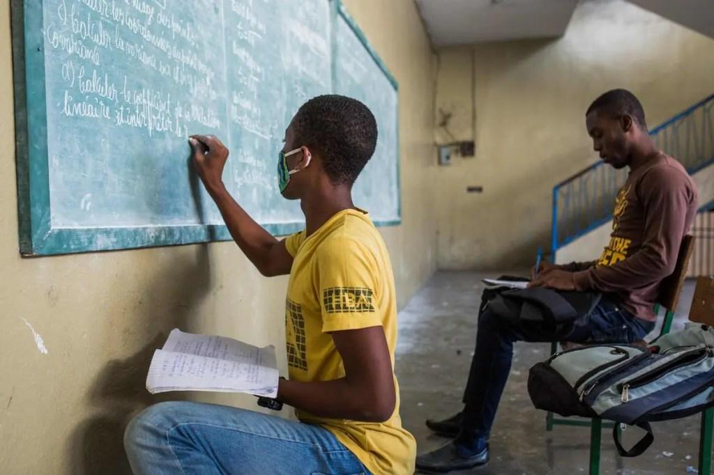 L'inégalité des chances à l'école en Haïti aggravée par le virus