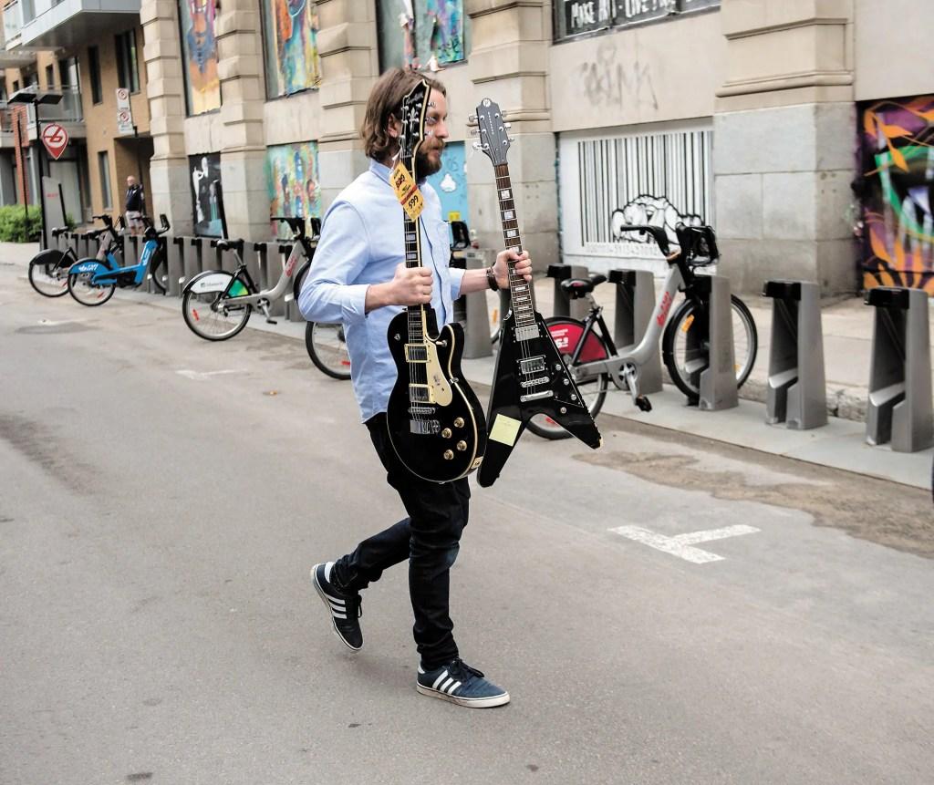 Des guitares volées sont de retour