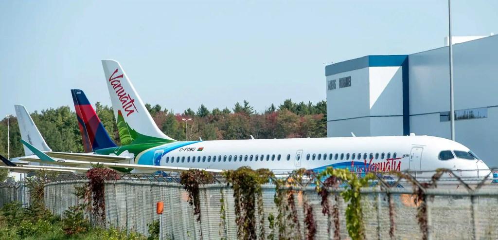 Des avions flambant neufs bloqués à Mirabel pour cause de pandémie
