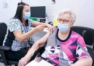 Vaccination à domicile pour certains aînés