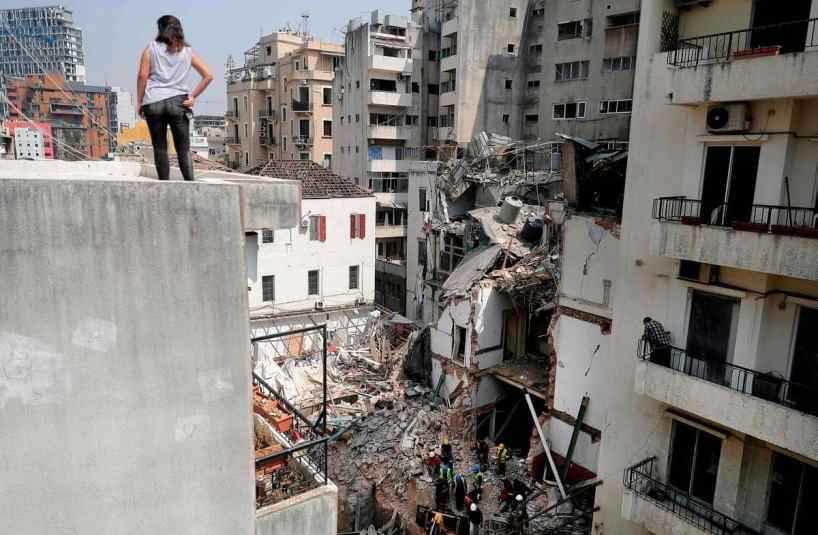 L'espoir s'amenuise de retrouver un survivant dans les décombres à Beyrouth