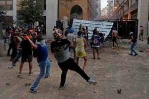 Liban: nouveaux heurts entre les forces de l'ordre et des manifestants à Beyrouth
