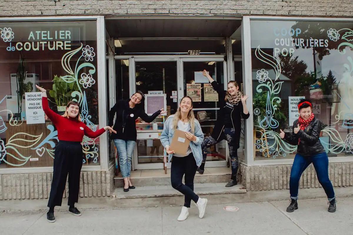 Nouvel atelier pour la Coop couturières Pop: «on manque d'espace»