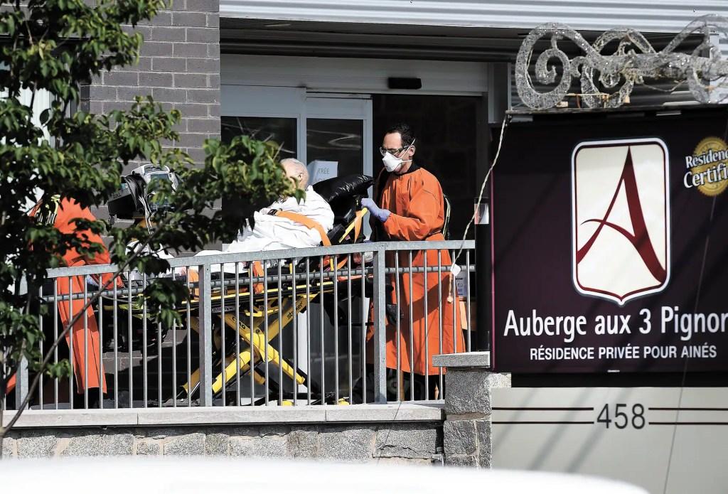 Foyer d'éclosion de la COVID-19: un quatrième décès à l'Auberge aux Trois Pignons