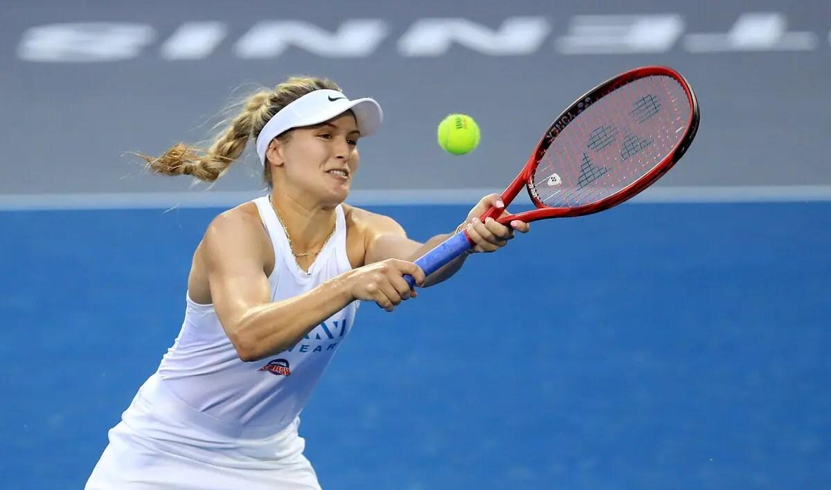 Un retour victorieux dans la WTA pour Eugenie Bouchard