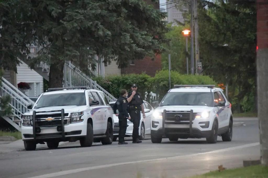 [PHOTOS] Un homme poignardé à Limoilou