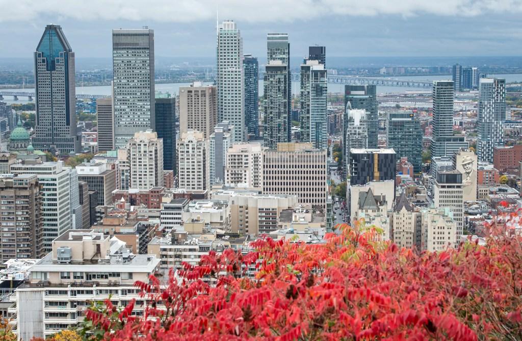 Centre-ville de Montréal: encore peu d'employés se rendent au bureau
