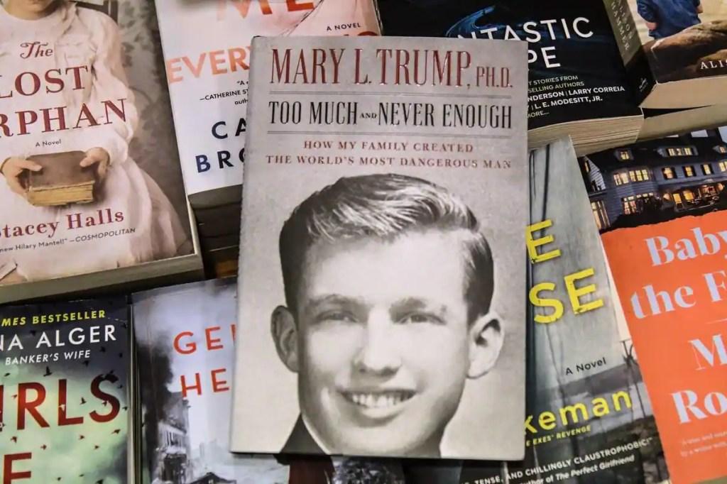 Quasiment un million de livres de la nièce de Trump vendus le premier jour