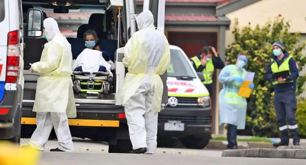 Virus: 549 cas en 24 heures, nouveau record de contaminations en Australie