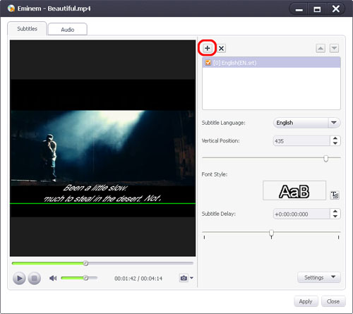 How to edit DVD Subtitle