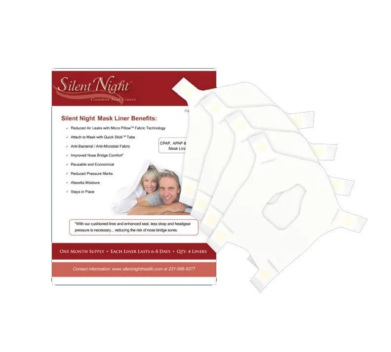 silent night cpap mask liners 30 day supply
