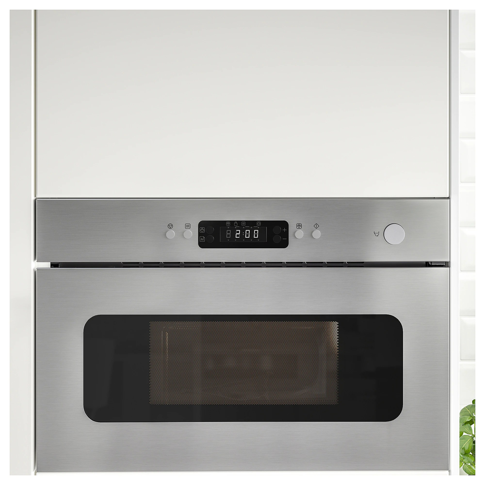 Microwave Oven Mattradition Stainless Steel