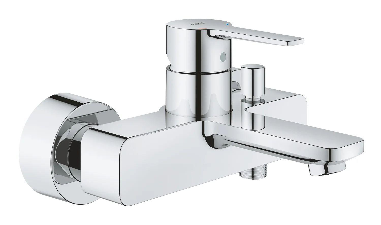 mitigeur mecanique de baignoire chrome