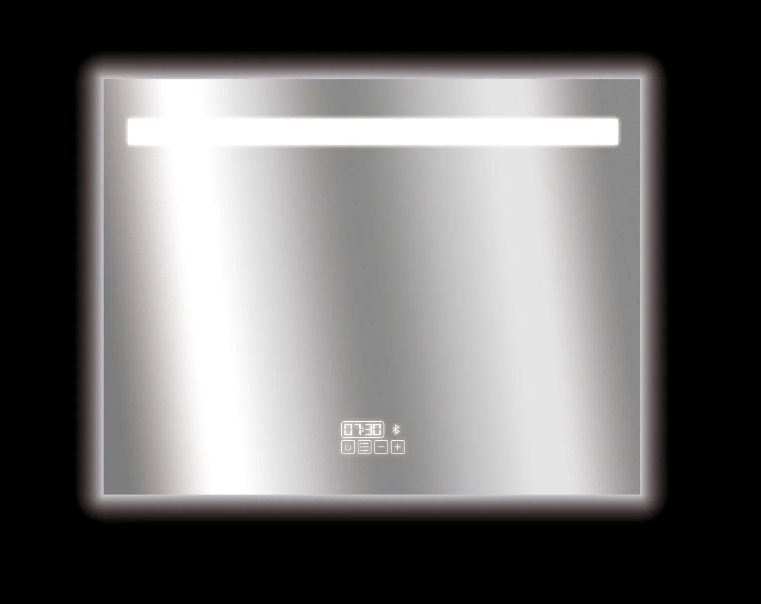 Miroir Lumineux Avec Eclairage Integre L 90 X H 70 Cm Bluetooth Leroy Merlin