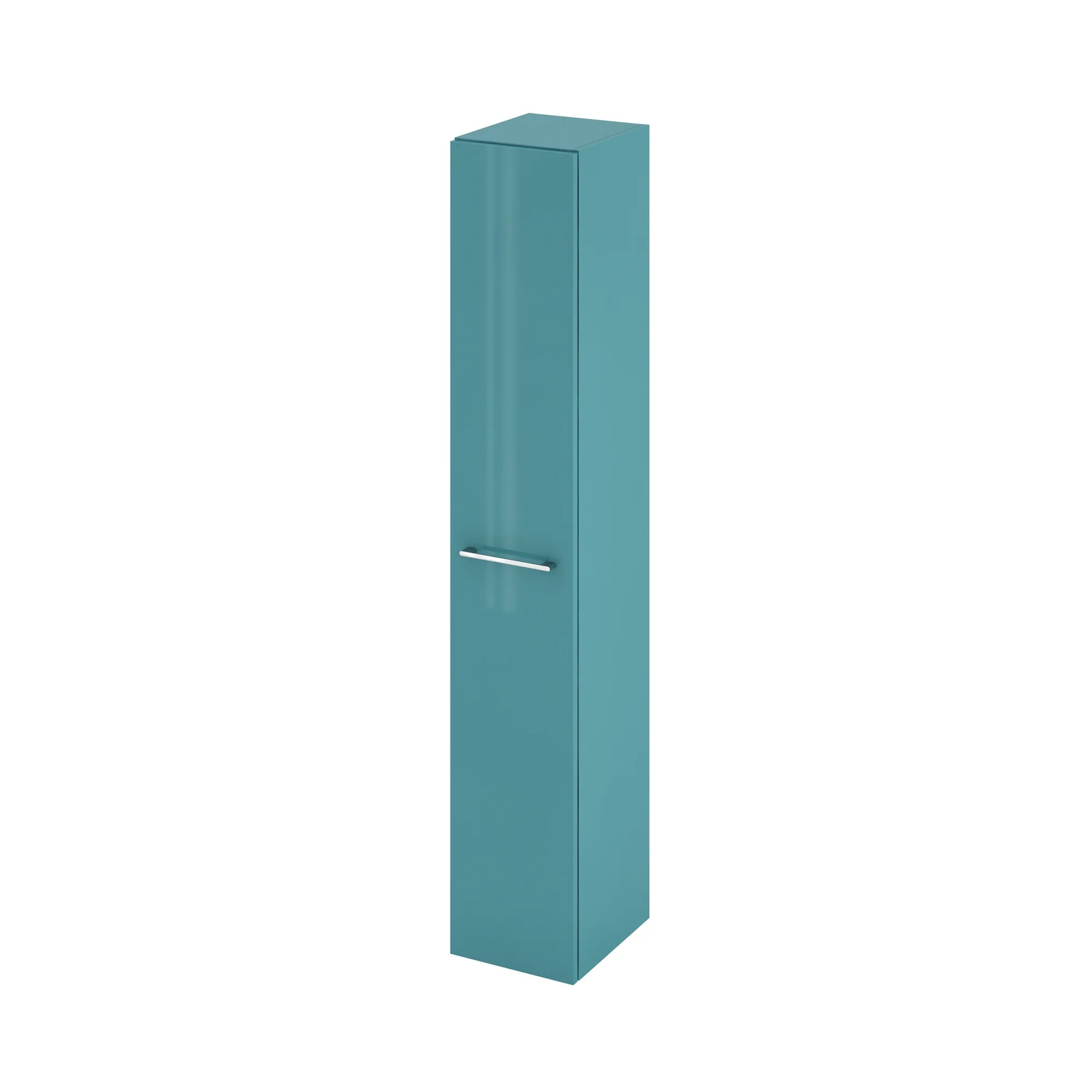 colonne de salle de bains l 30 x h 173 x p 34 8 cm vert laguna remix