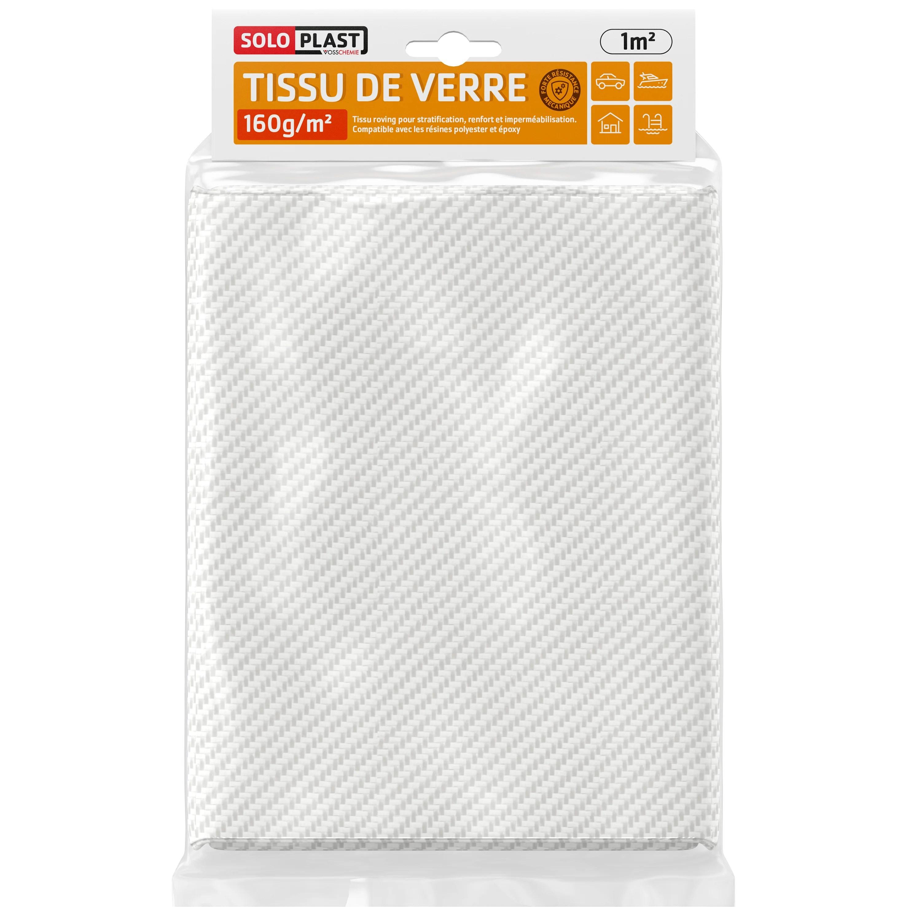 Tissu De Verre Tissu De Verre Soloplast 160g Leroy Merlin
