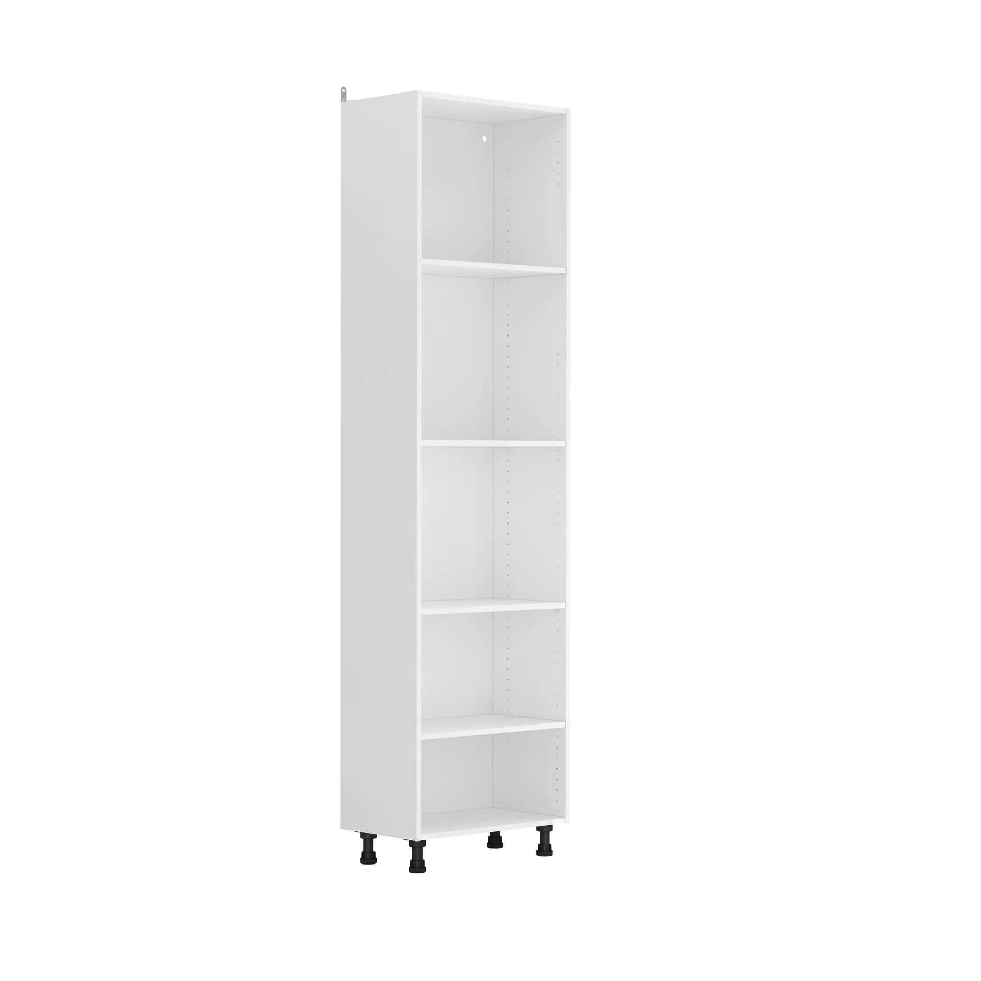 caisson de cuisine armoire delinia id blanc h 214 4 x l 60 x p 35 cm