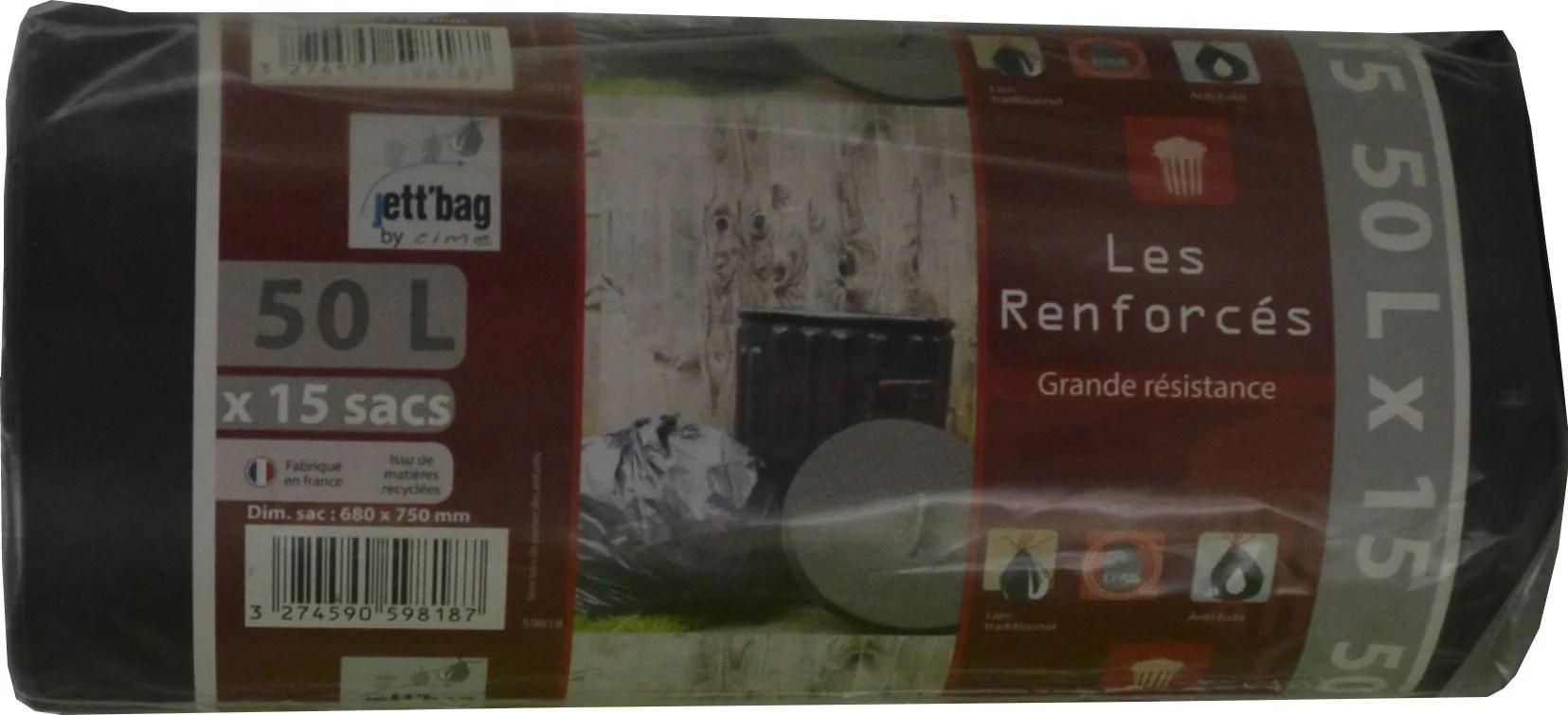 Sac A Dechet Tres Resistant 50 L Leroy Merlin