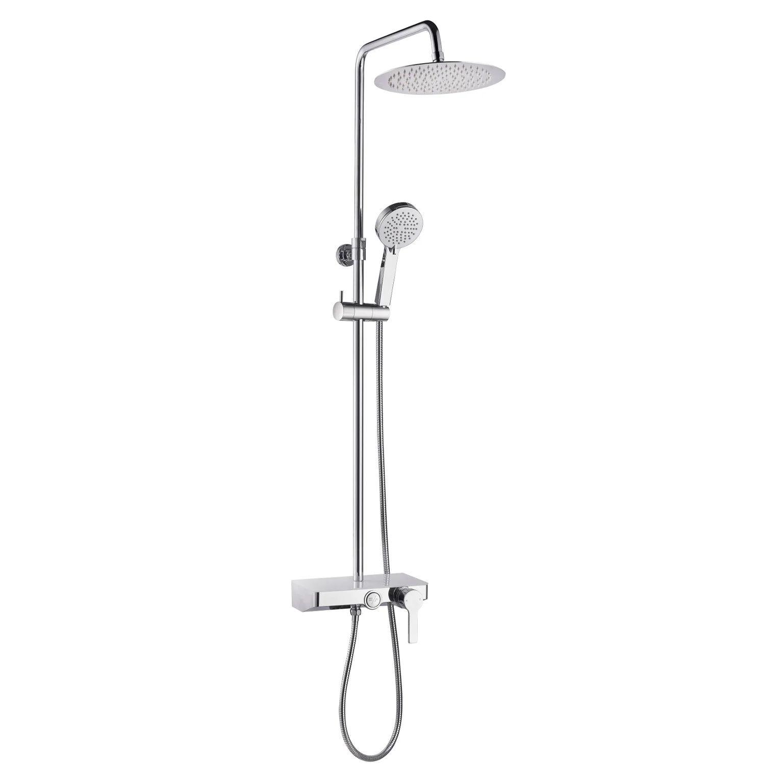 colonne de douche avec robinetterie essebagno waterbox ii