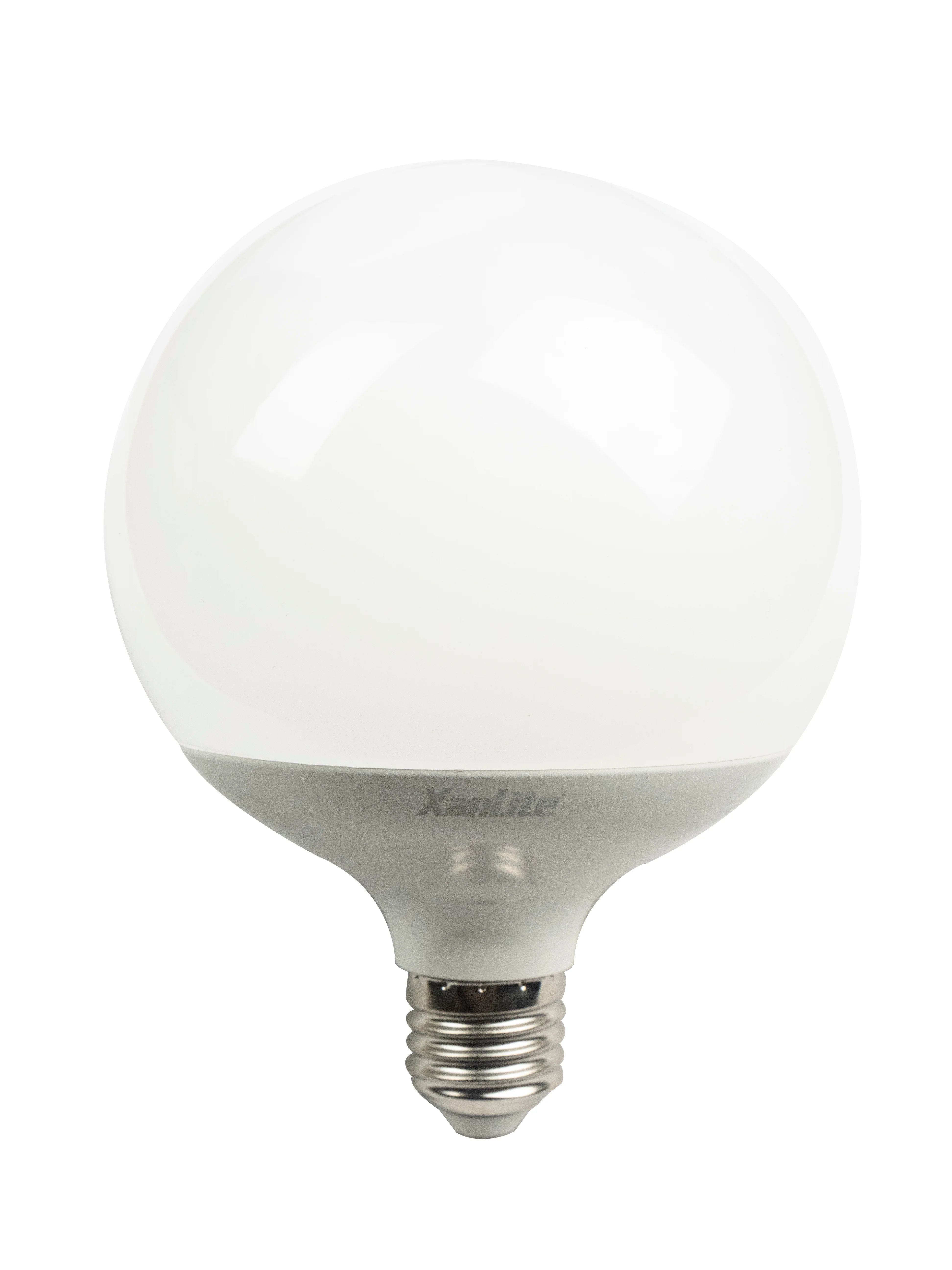 Ampoule Led Opaque Globe 125 Mm E27 2452 Lm 150 W Blanc Chaud Xanlite Leroy Merlin