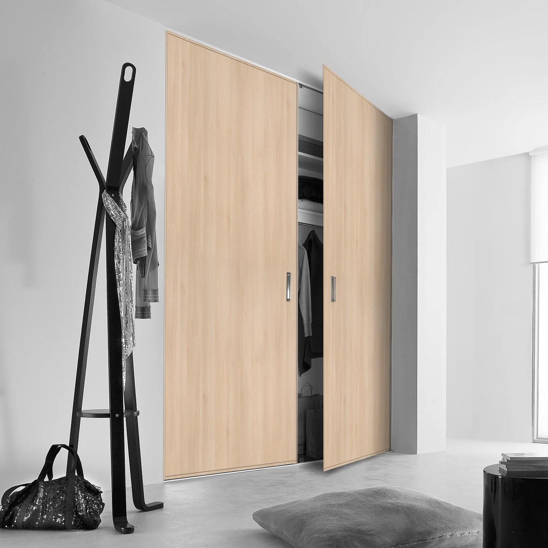 porte de placard pivotante sur mesure kazed traditionnel de 60 1 a 80 cm leroy merlin