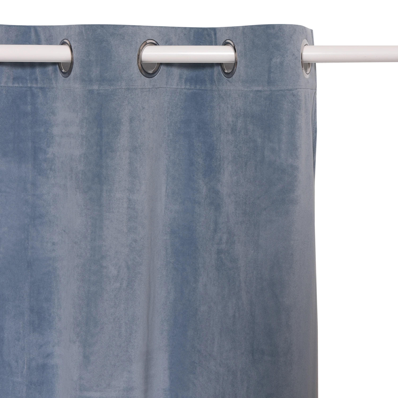 rideau scandinave bleu leroy merlin