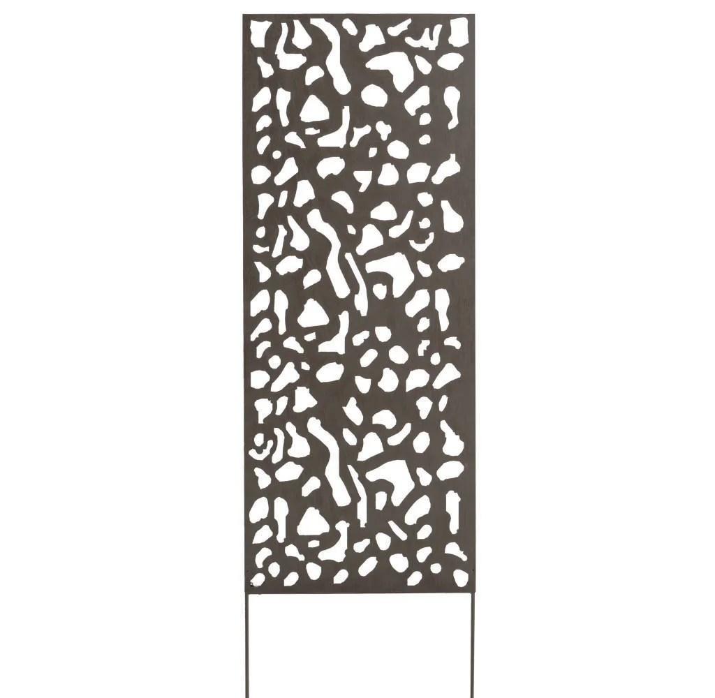 panneau metal decoratif mosaique l 60 x h 150 cm