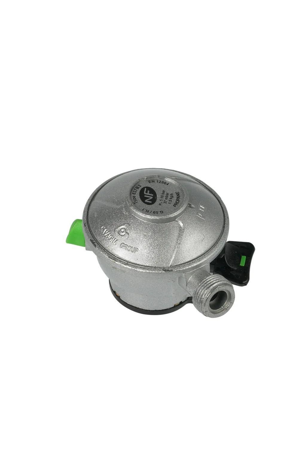 Detendeur Inox Gaz Propane 5 H 6 5 Cm Gazinox Leroy Merlin