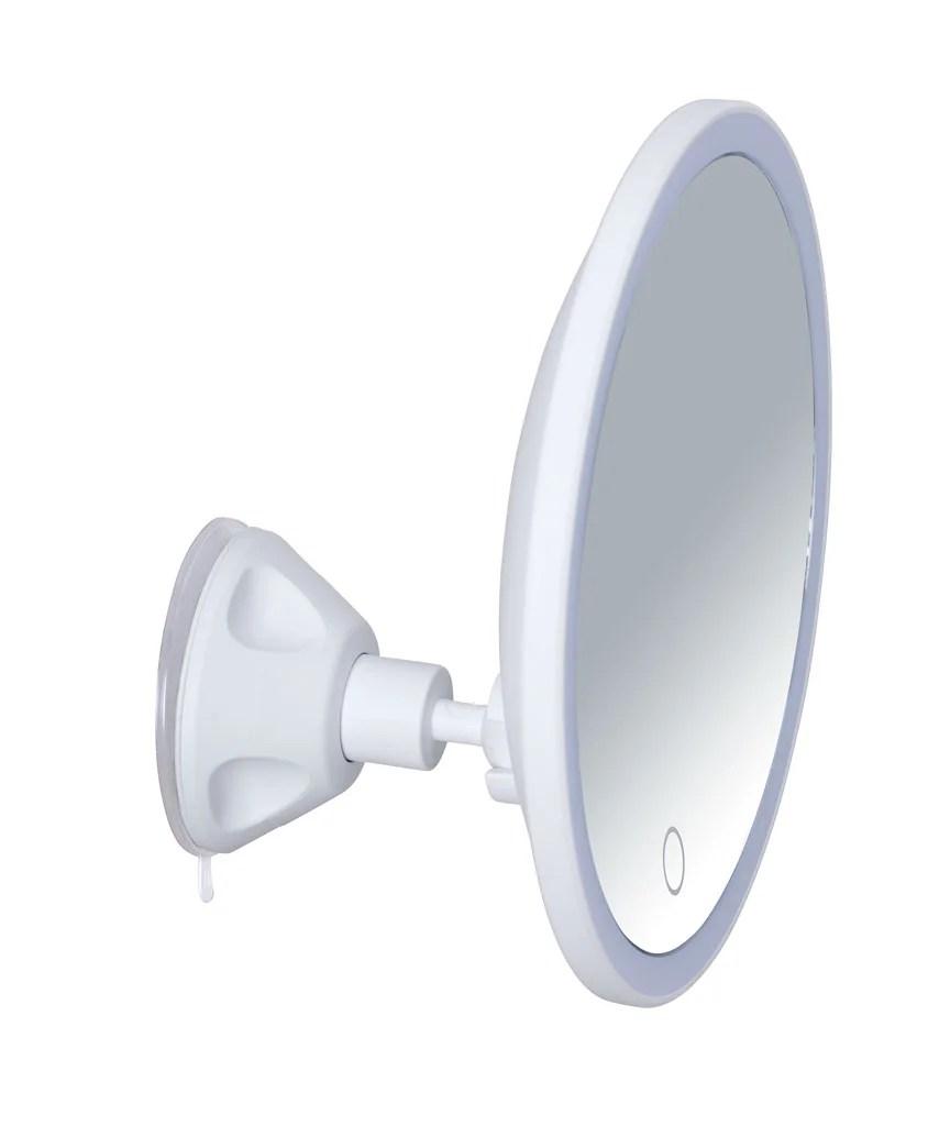 Miroir Grossissant X 5 Rond Adhesif X L 19 X P 8 Cm Isola Leroy Merlin