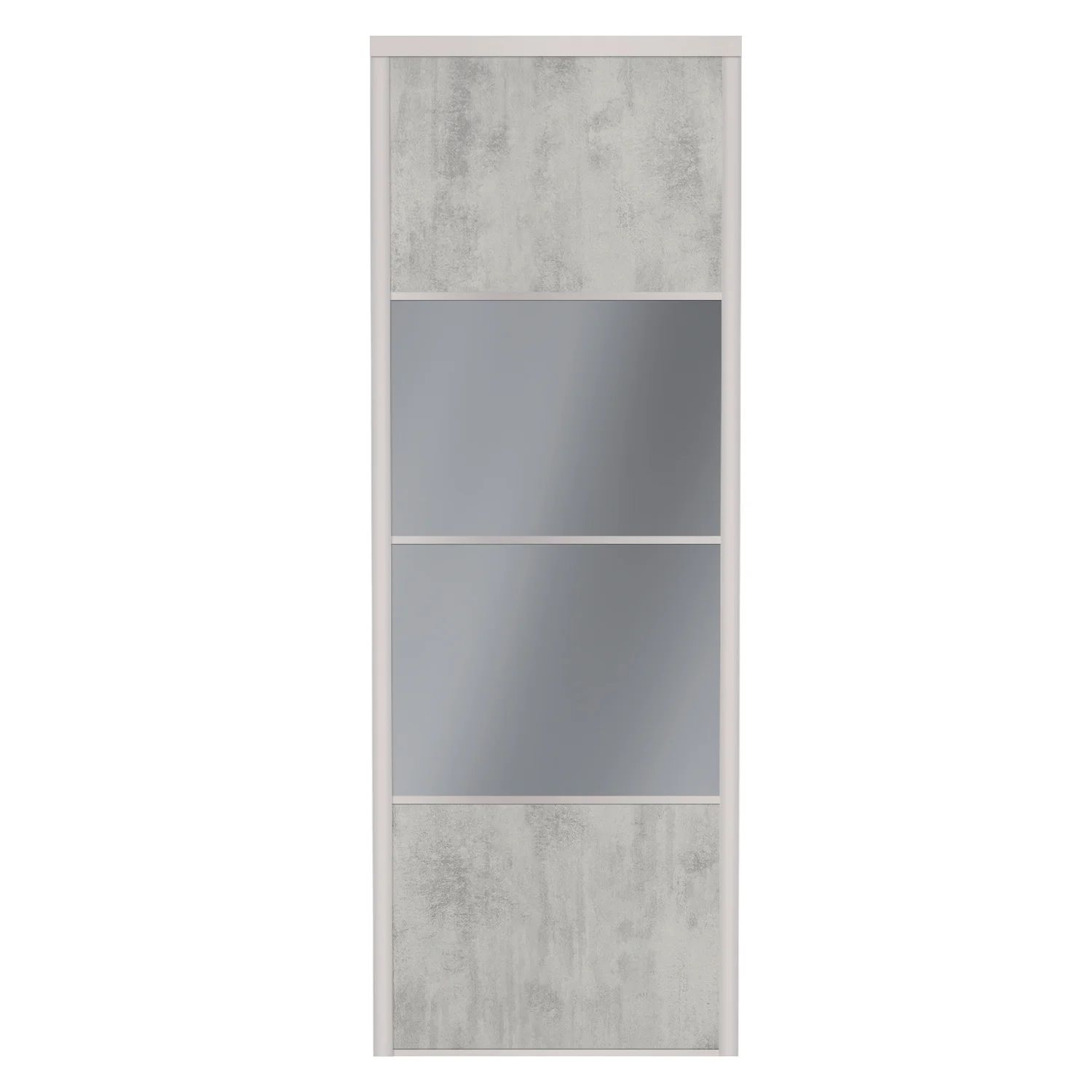 Porte De Placard Coulissante Sur Mesure Spaceo Alliance De 60 1 A 80 Cm Leroy Merlin
