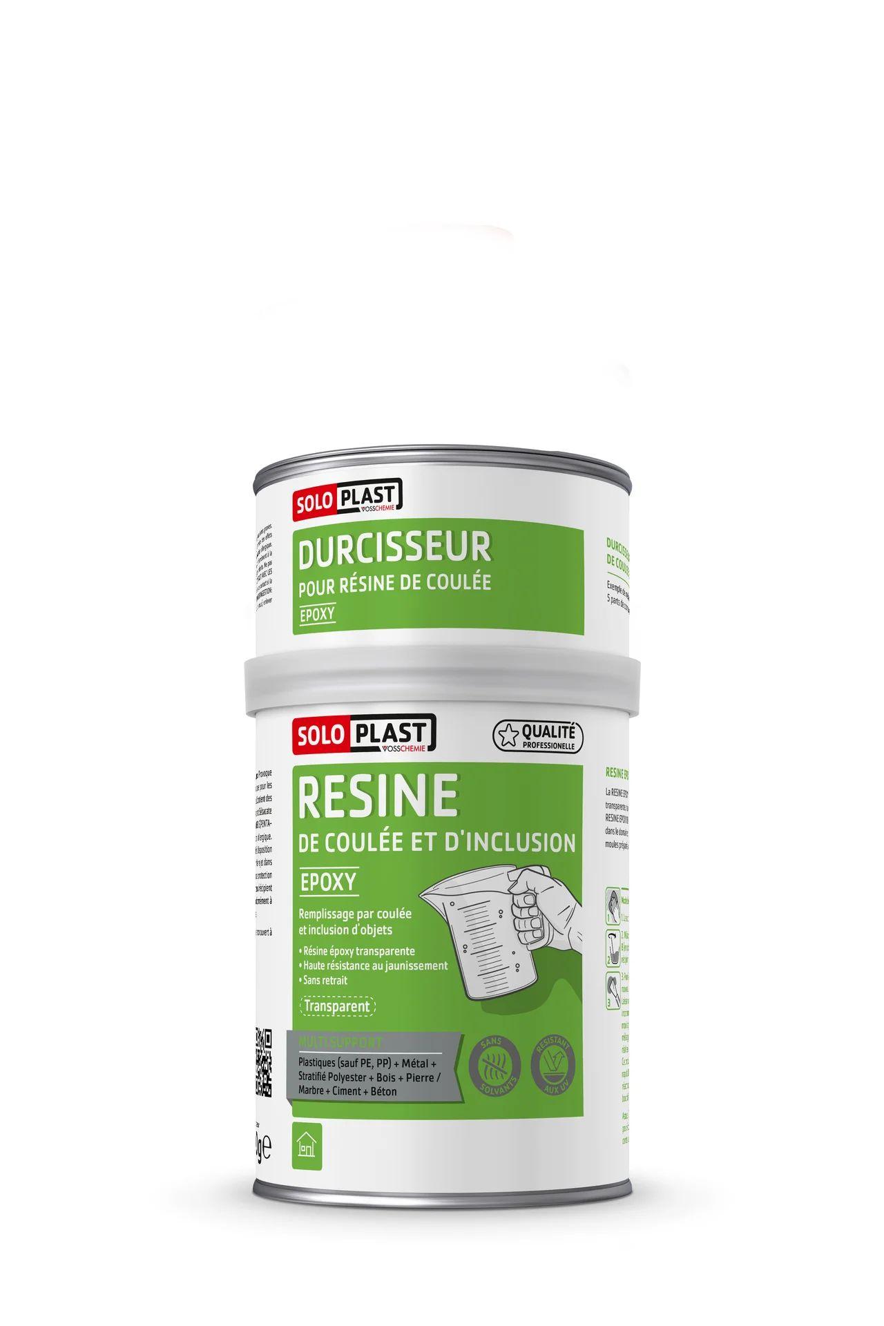 Resine Inclusion Epoxy De Coulee Transparent Soloplast 5 Kg Leroy Merlin