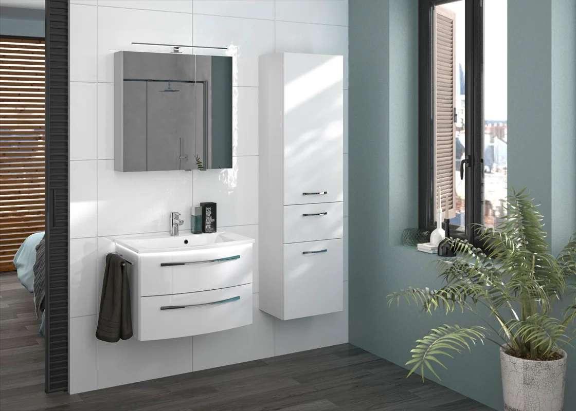 Armoire De Toilette L 70 Cm Image Leroy Merlin