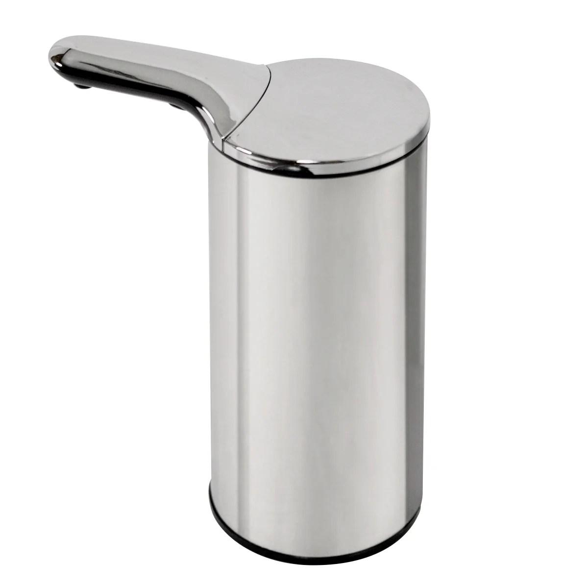 distributeur de savon automatique inox
