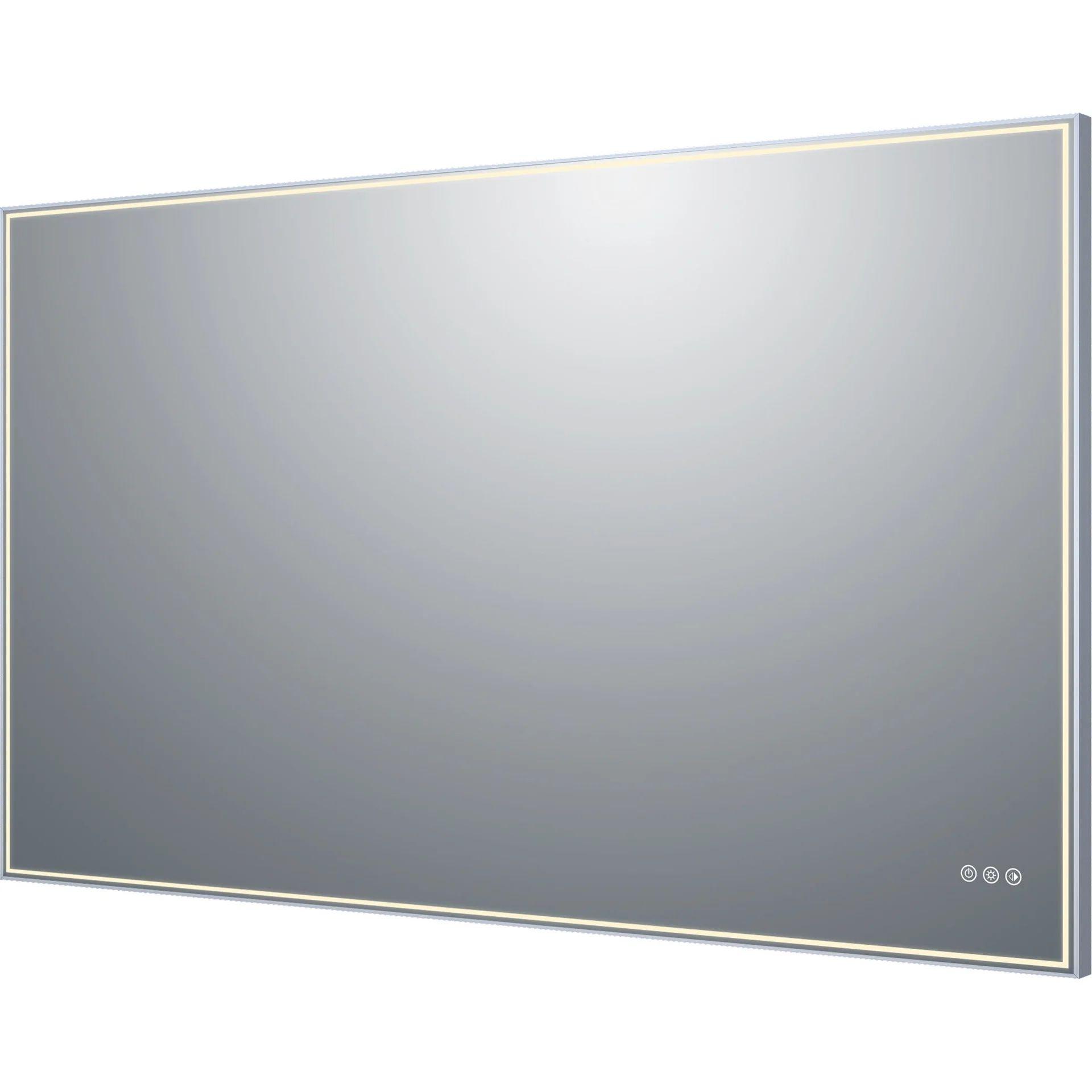 Miroir Lumineux Avec Eclairage Integre L 150 X H 90 Cm Neo Leroy Merlin