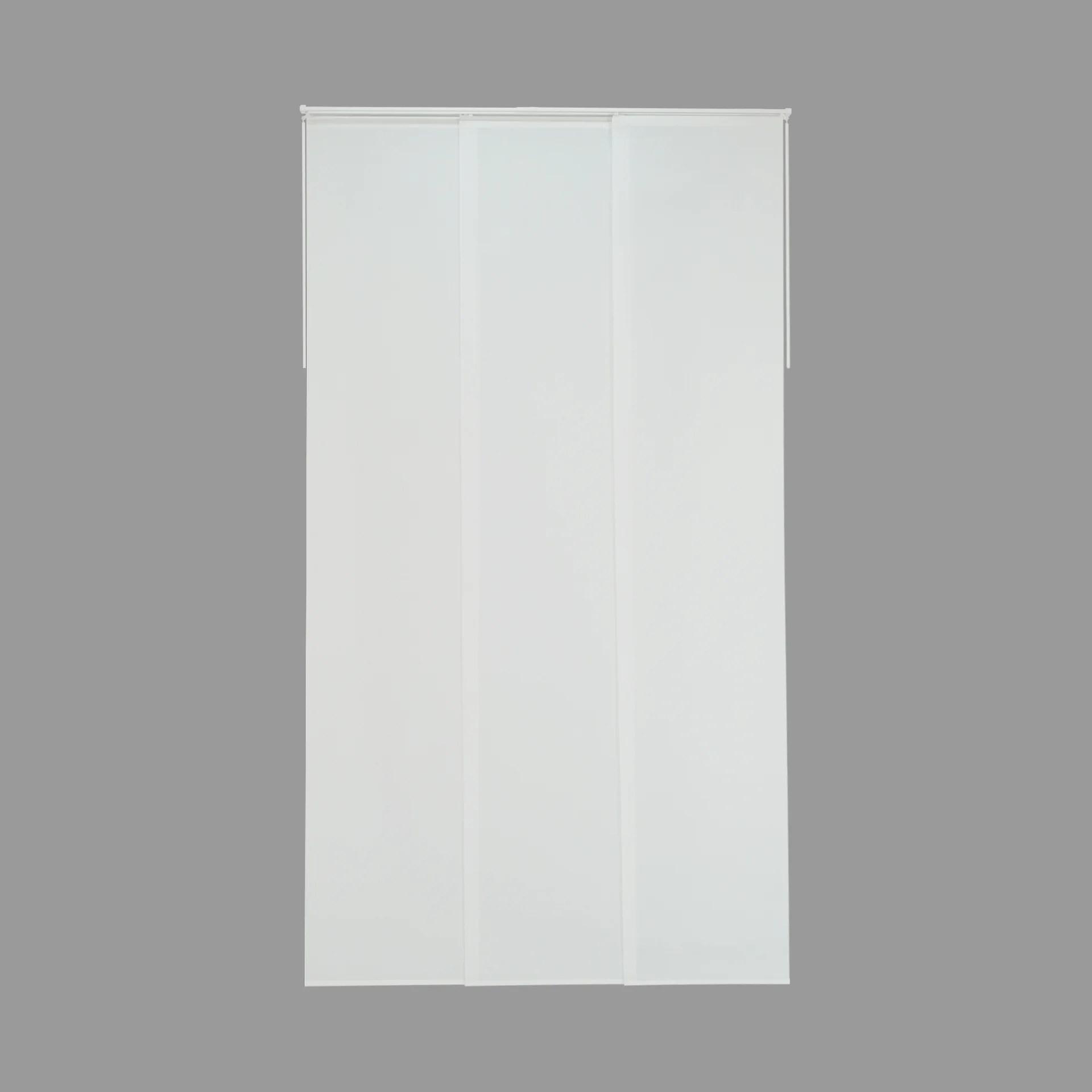 kit complet panneau japonais enduit imprime h 250 x l 90 cm