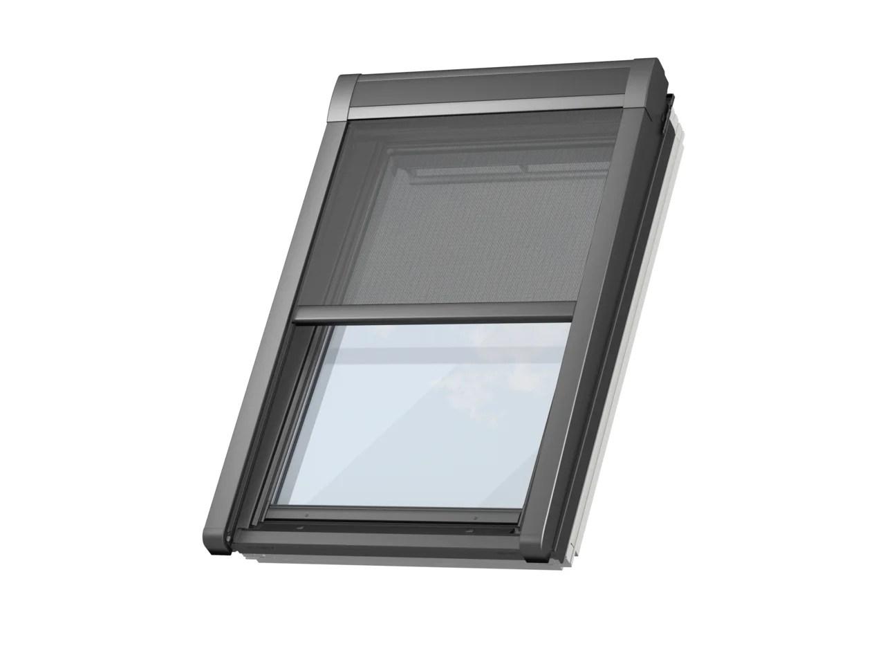 store fenetre de toit velux pare soleil electrique uk04 h 98 x l 134 cm